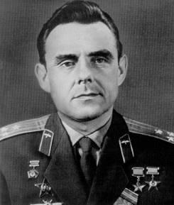 Vladimir komarov - décédé en rentrant de l'espace Komarov